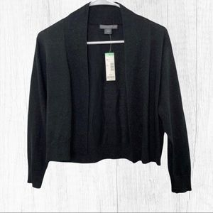 Covington Black Shrug Long sleeve Sweater Cardigan
